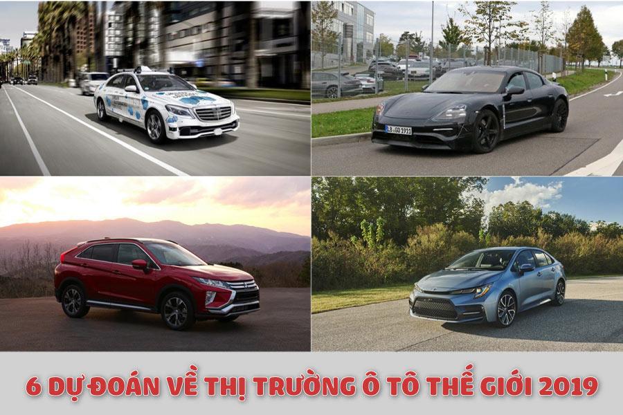 6 dự đoán thị trường ô tô thế giới