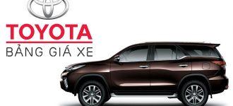 Bảng giá xe Toyota Cần Thơ – Toyota Ninh Kiều