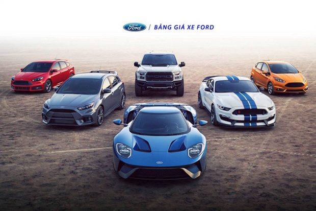Bảng giá xe Ford Cần Thơ