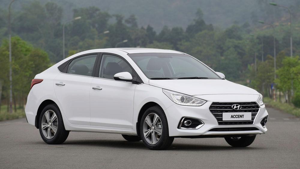 Hyundai Accent - Top 10 xe bán chạy năm 2018