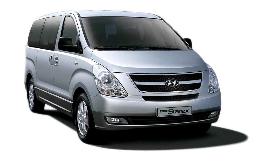 Hyundai Starex đầu xe