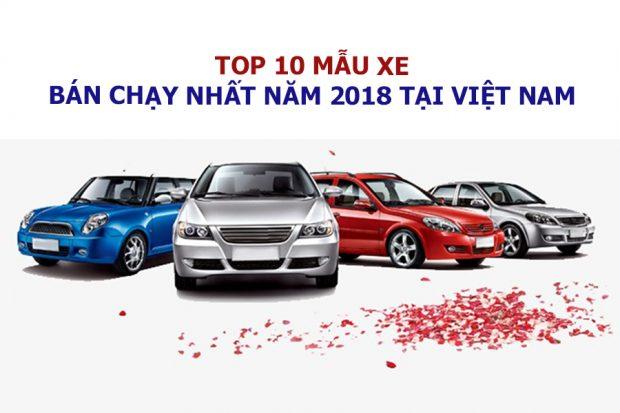 Top 10 xe bán chạy năm 2018