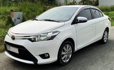 Xe Cũ Cần Thơ: Toyota Vios 2016 - Vios Cũ