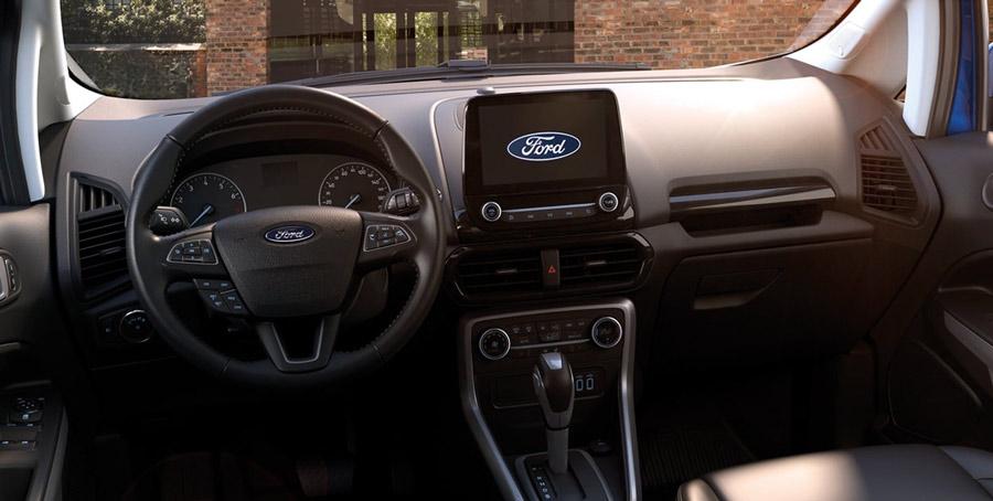 Trung tâm điều khiển của khoang lái & vô lăng Ecosport