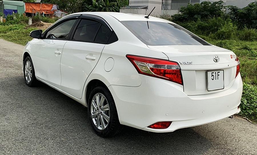 Ngoại thất Toyota Vios cũ