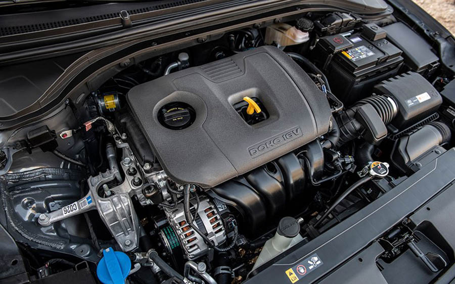 Hyundai Elantra 2019 động cơ