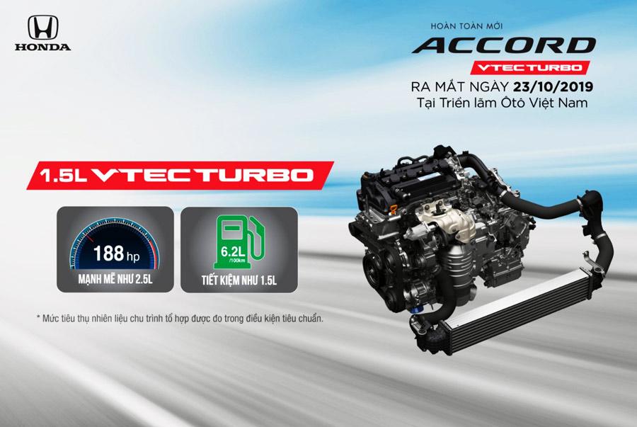 Động cơ 1.5L VTEC Turbo - Động cơ mạnh mẽ và tiết kiệm nhiên liệu