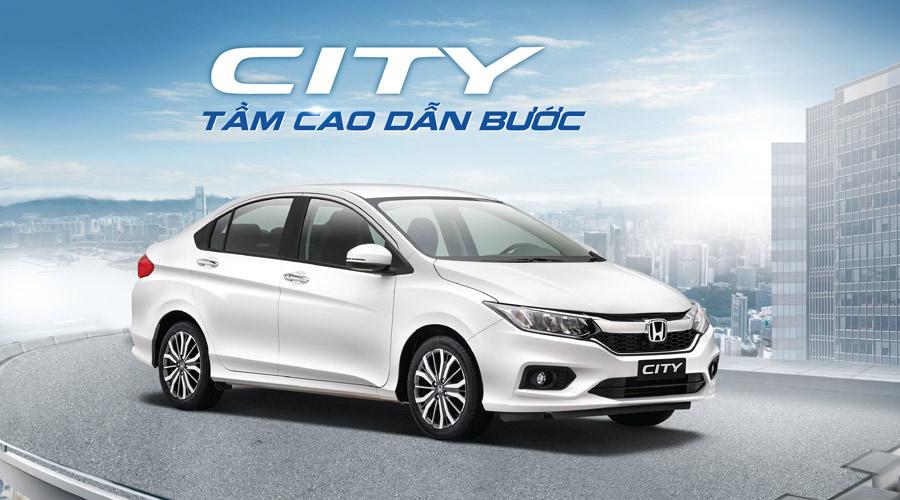 Honda City - Tầm cao dẫn bước