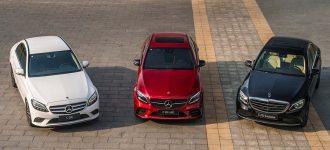 Mercedes C200 – C200 Exclusive – C300 AMG