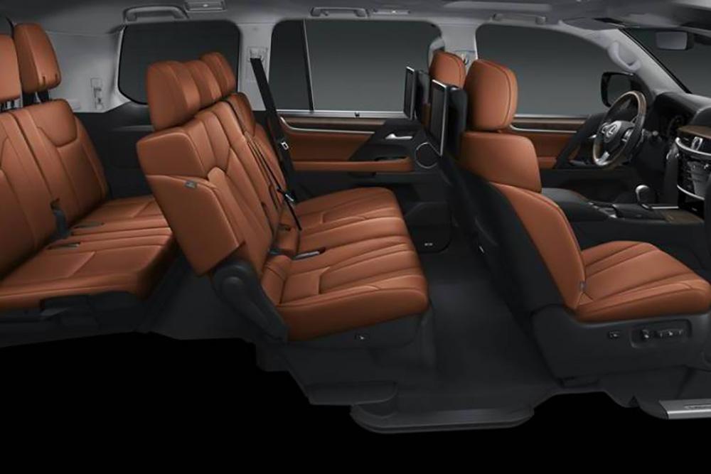 Lexus lx570 nội thất ghế ngồi