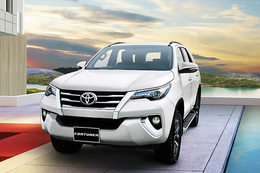 Toyota Fortuner mới