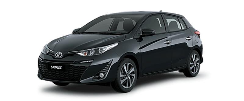 Toyota Yaris 2019 màu xám