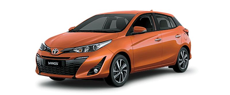 Toyota Yaris 2019 màu cam
