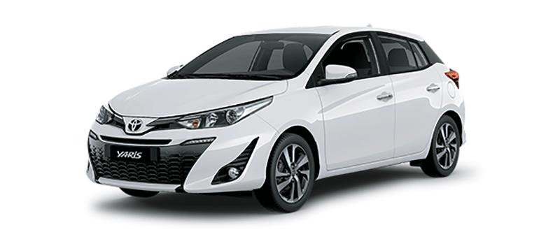 Toyota Yaris 2019 màu trắng
