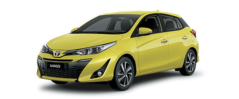 Toyota Yaris 2019 màu vàng