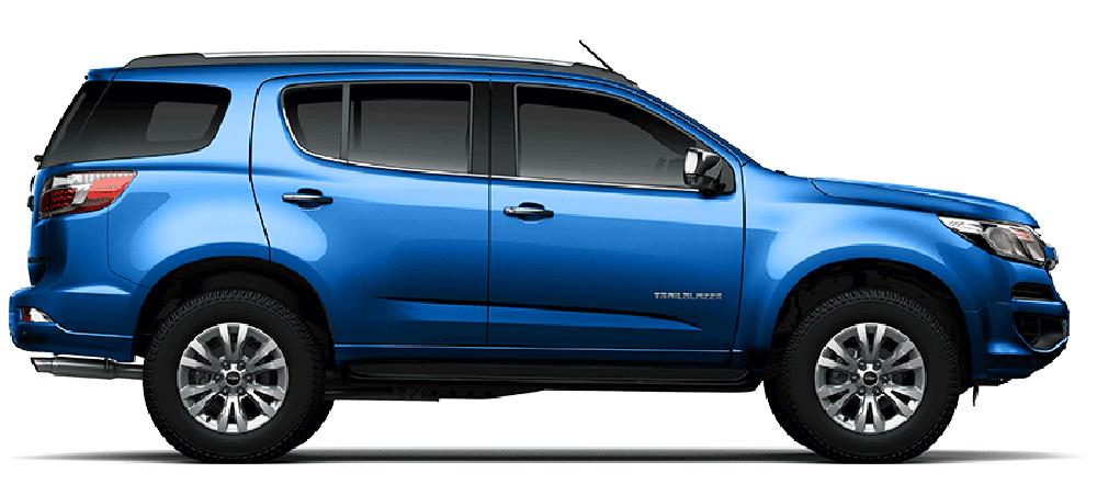 Chevrolet Trailblazer màu xanh
