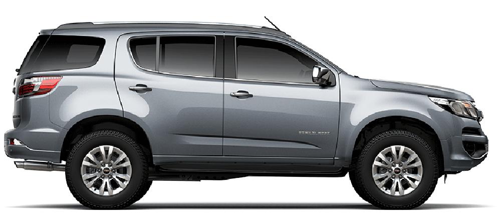 Chevrolet Trailblazer màu xám