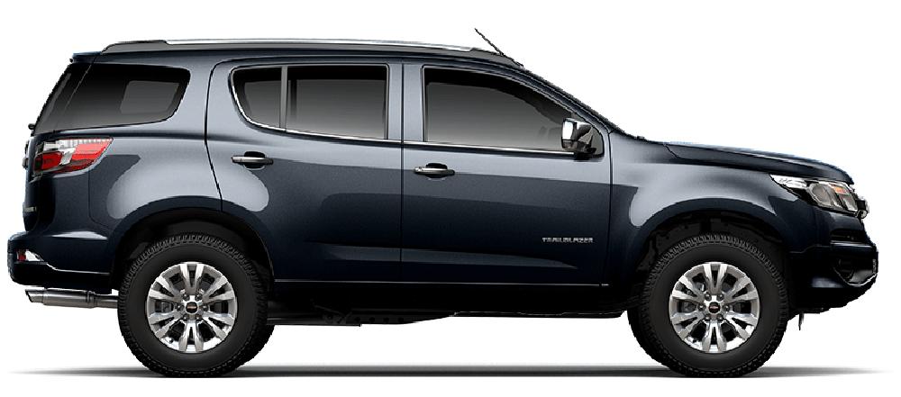 Chevrolet Trailblazer màu metallic