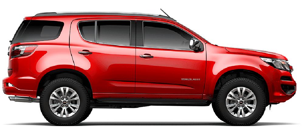 Chevrolet Trailblazer màu đỏ