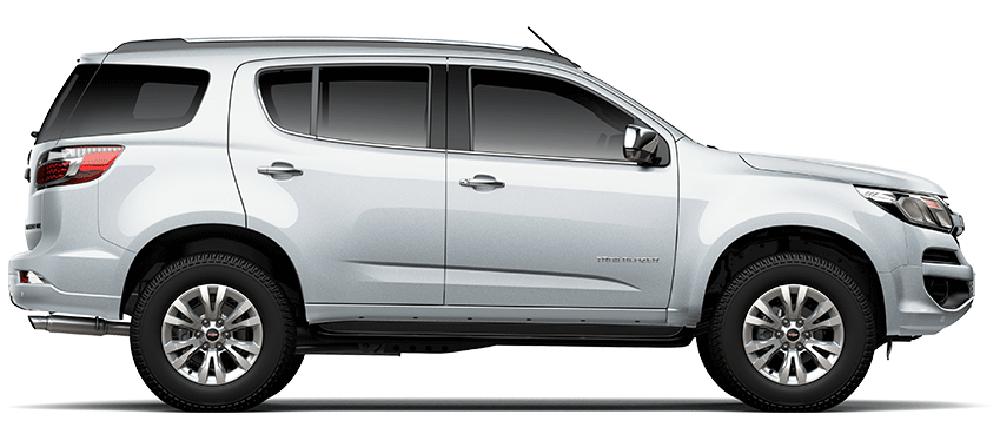 Chevrolet Trailblazer màu bạc