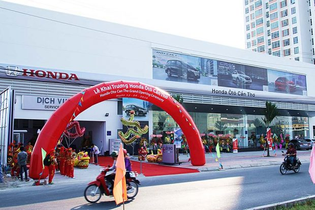Đại lý 5S Honda ô tô Cần Thơ