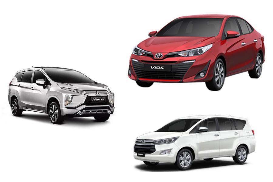 doanh số xe tháng 3-2019
