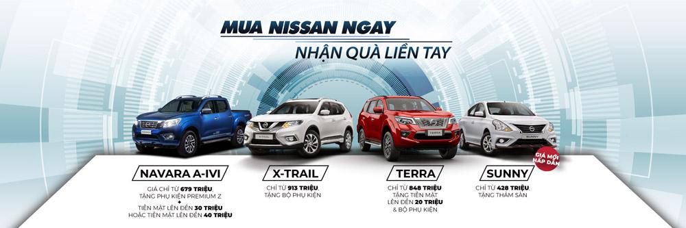 Khuyến mãi Nissan tháng 9/2020