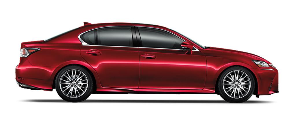 Lexus GS350 màu đỏ