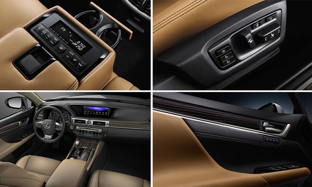 Nội thất sang trọng của Lexus GS350