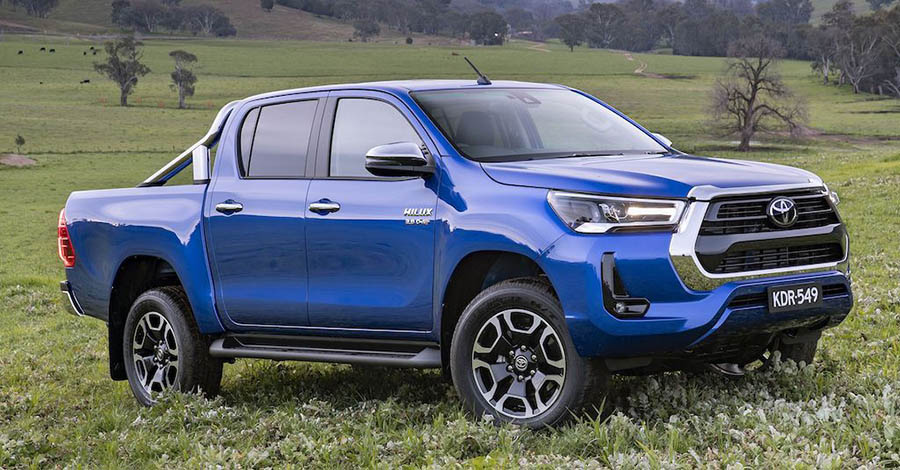 toyota hilux gallery