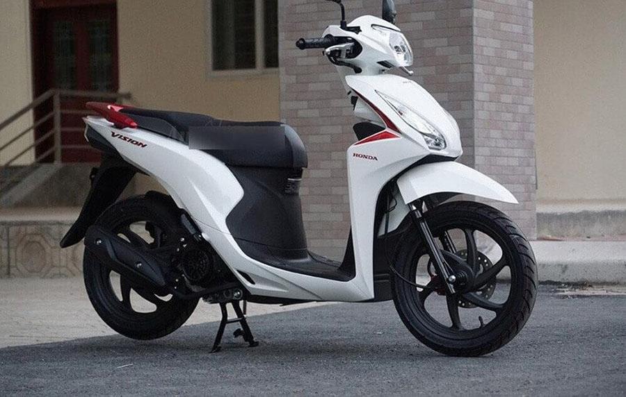 xe máy honda giá xe tay ga tháng 4 vision