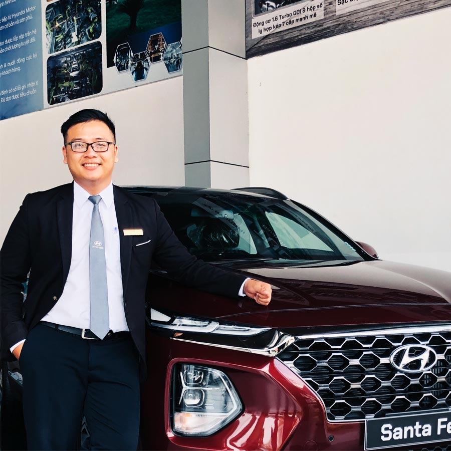 Chuyên viên tư vấn Hyundai Tây Đô - Hyundai Cần Thơ