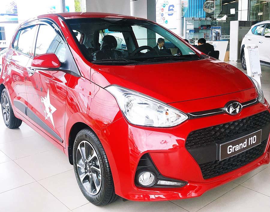Hyundai Grand i10 mới - Hyundai Cần Thơ - Hyundai Tây Đô
