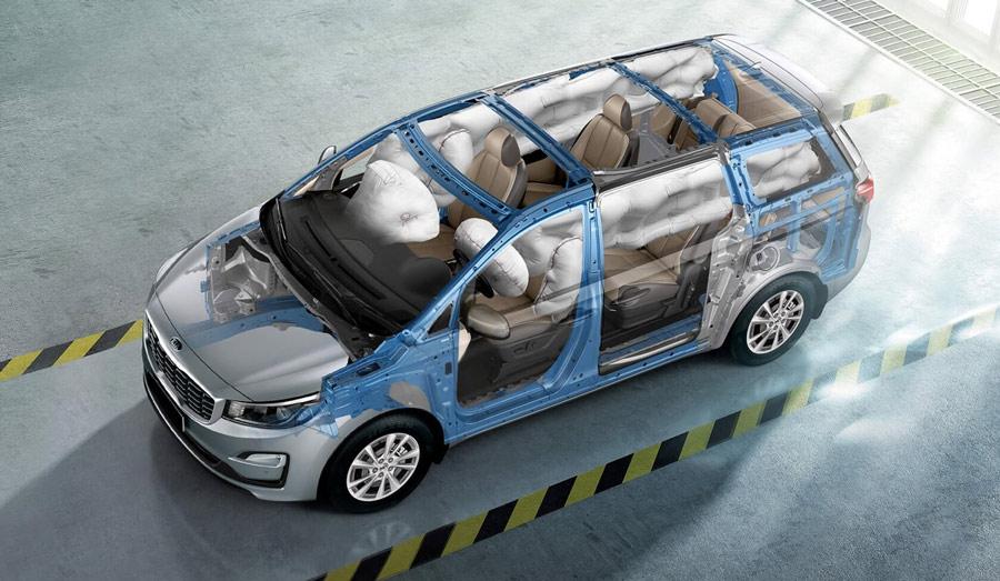 Mạnh mẽ từ trong ra ngoài, Sedona tích hợp công nghệ chủ động và thụ động giúp bảo vệ bạn và các hành khách trên xe. Bạn được toàn quyền điều khiển khi vận hành xe trên suốt những chặng đường khác nhau.