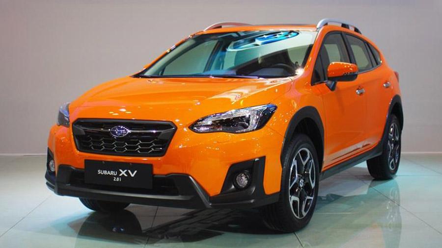 Thiết kế đầu xe Subaru XV