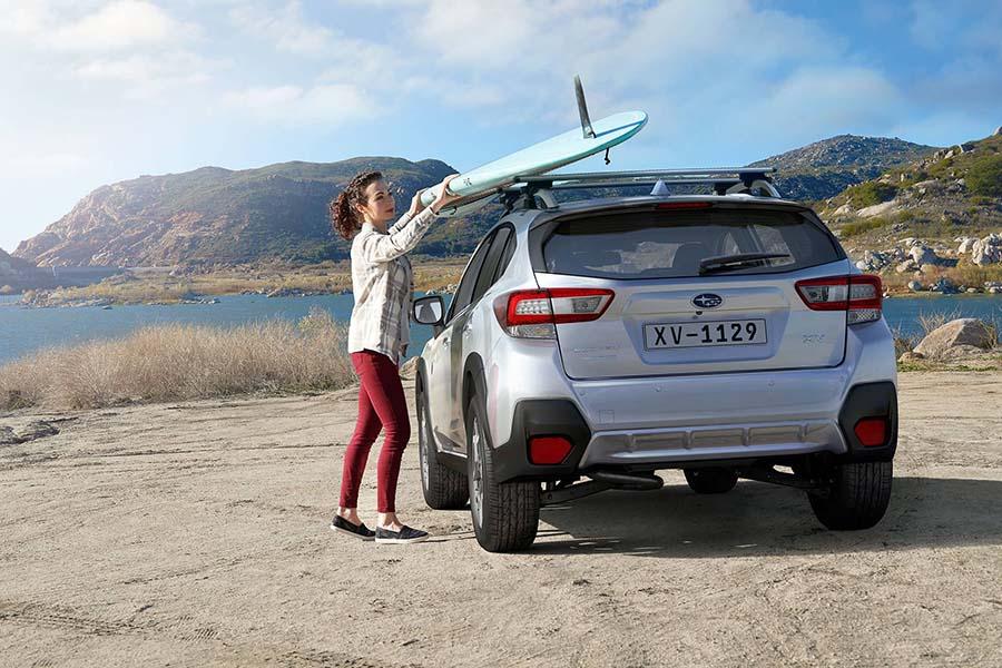 Thiết kế đuôi xe Subaru XV