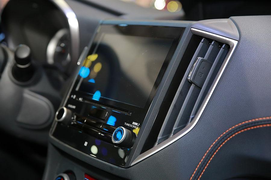 Tiện nghi và giải trí trên Subaru XV