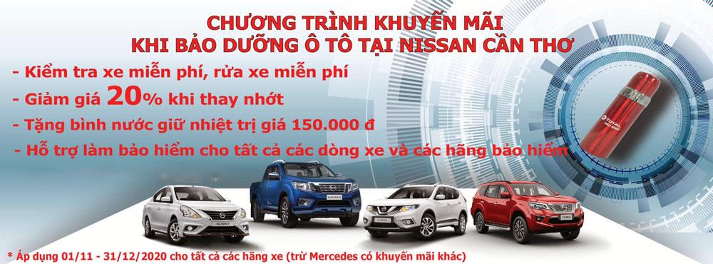 Khuyến mãi Nissan tháng 11/2020