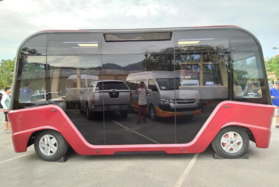 FastGo và VinGroup - xe bus điện của vinbus