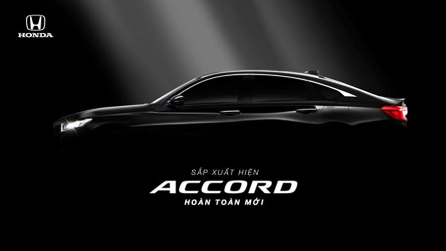 Honda Accord thế hệ mới sắp ra mắt vào tháng 10