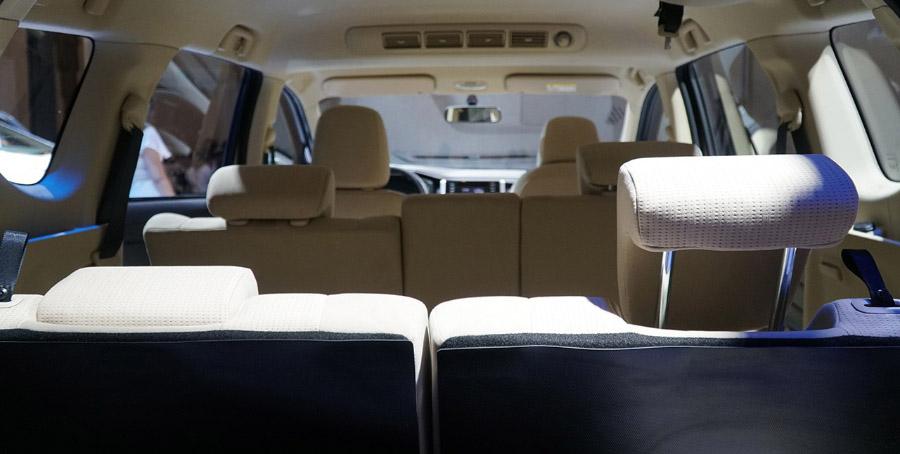 Trải nghiệm trên hàng ghế thứ 3 của Mitsubishi Xpander