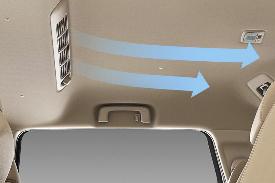 Hệ thống điều hòa ấn tượng trên Mitsubishi Xpander