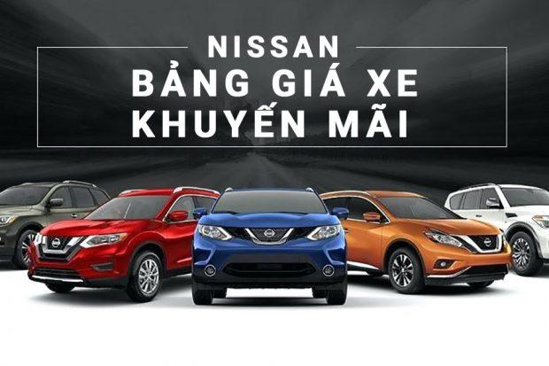 Bảng giá xe Nissan Cần Thơ kèm khuyến mãi