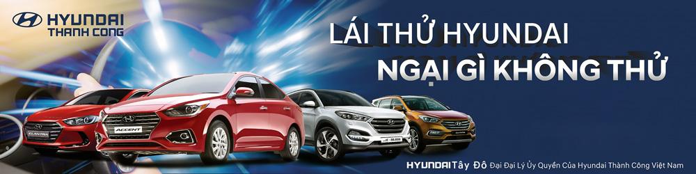 Lái thử Hyundai Vĩnh Long