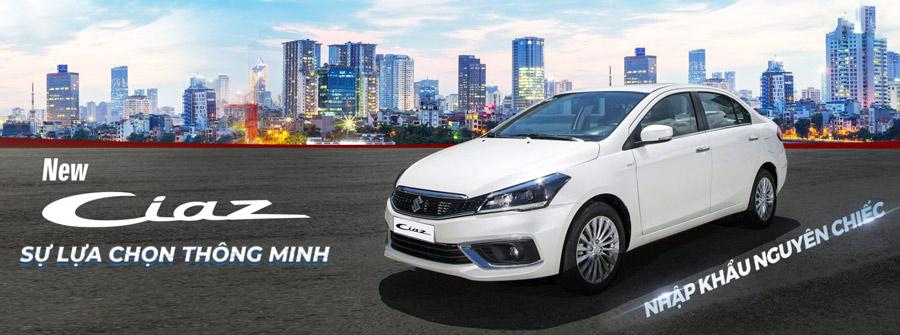 Suzuki Ciaz 2020 - Sự lựa chọn thông minh. Dòng sedan được nhập khẩu nguyên chiếc.