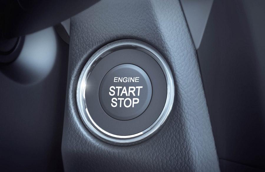 Khởi động xe không cần chìa khoá