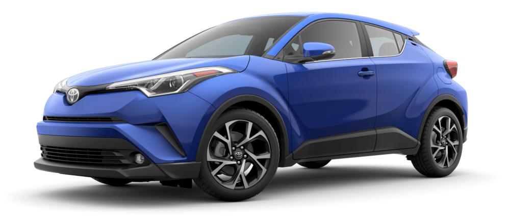 Toyota C-HR 2019 blue