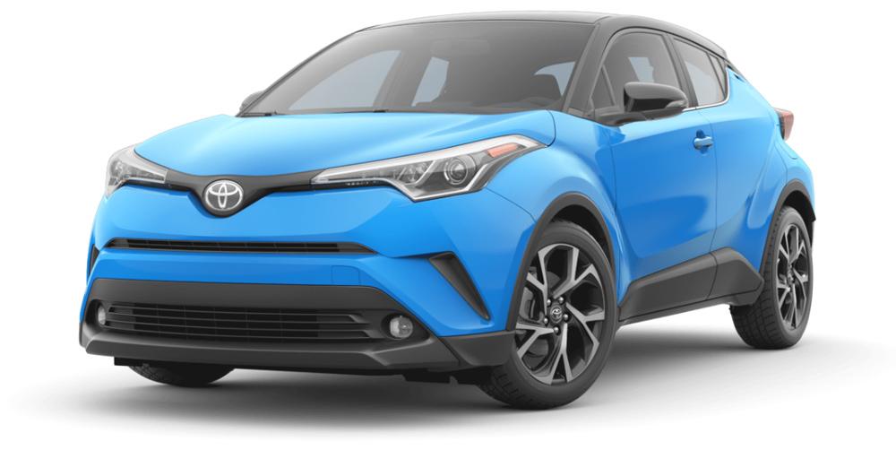 Hình ảnh đầu xe Toyota C-HR 2019