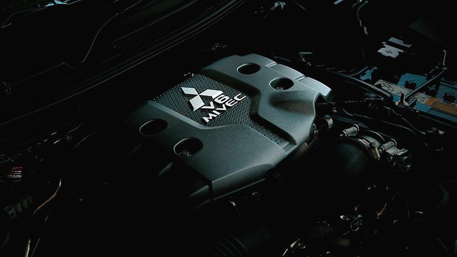Động cơ MIVEC V6 của Mitsubishi