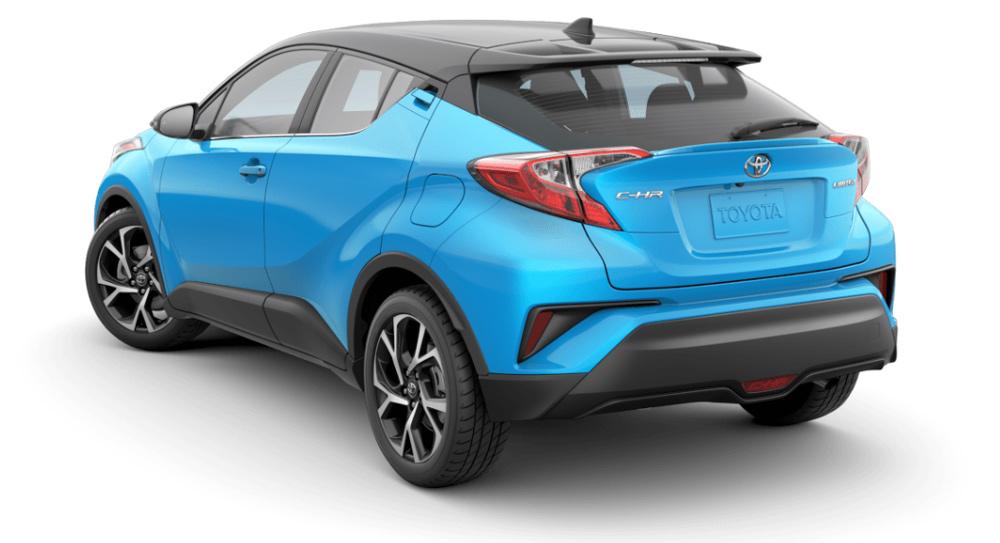 Hình ảnh đuôi xe Toyota C-HR 2019